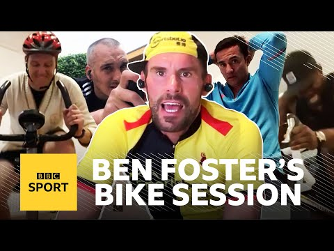 Ben Foster's Full BRUTAL Bike Workout With Tim Cahill, Micah Richards, Leon Osman & Dan Walker