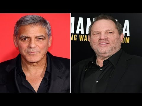 Ocean's Eleven star George Clooney branded a hypocrite after comments on Harvey Weinstein scandal