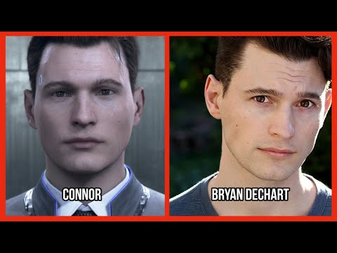Characters and Voice Actors  Detroit: Become Human