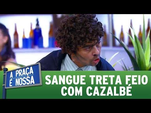 Sangue treta feio com Carlos Alberto | A Praça É Nossa (23/11/17)