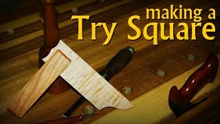 Make A Try Square - Woodworking Layout Tool