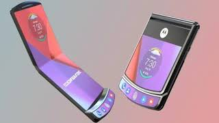 Motorola RAZR 2019 - The folding Flip phone.