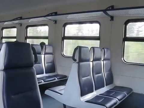В электропоезде ЭД4М-0376, май 2017