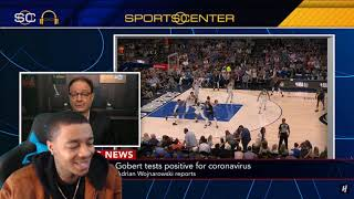 NBA SUSPENDS REST Of 2019-20 NBA Season Because Of Rudy Gobert Catching Coronavirus Reaction & Rant!