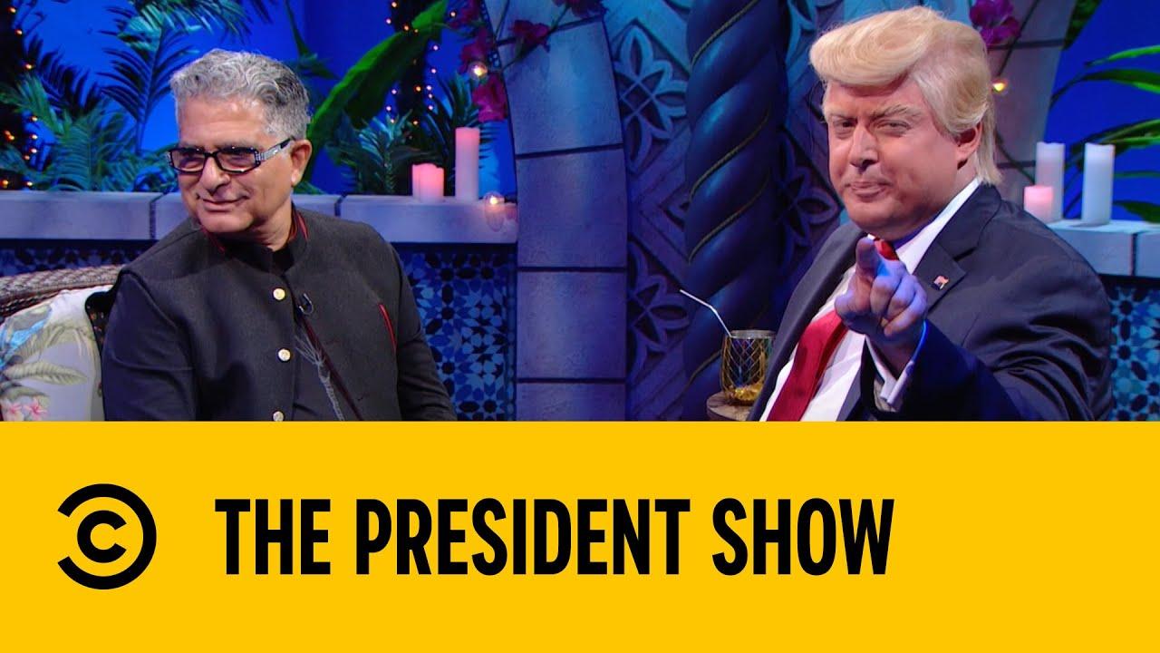 Download Deepak Teaches Trump Meditation   The President Show