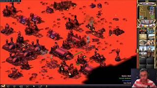 EPIC 3 VS 3 ONLINE MULTIPLAYER MATCHES IN WASTELAND MAP Command & Conquer Red Alert 2 Yuri
