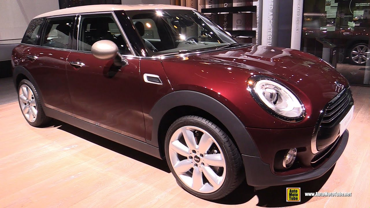 2016 mini cooper clubman exterior and interior walkaround debut at 2015 frankfurt motor show Mini cooper exterior accessories