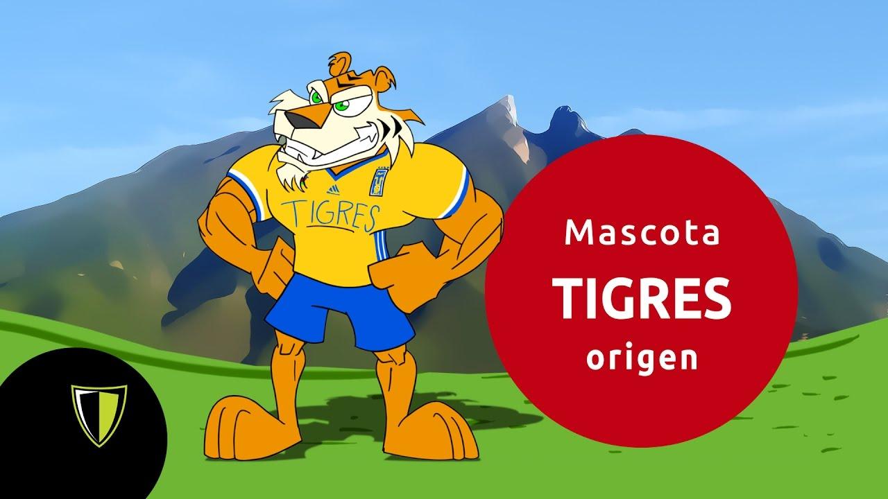 El origen de la mascota de los Tigres de la UANL - YouTube