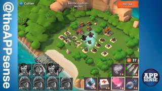 Cutter (43) Single Player Island - Boom Beach Walkthrough