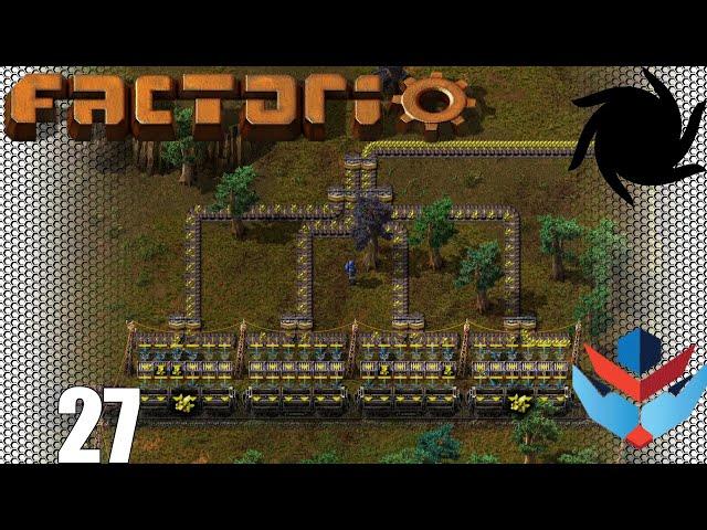 Factorio 1.0 Multiplayer 1K SPM Challenge - 27 - Breaking slow Speed Records