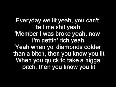 YFN Lucci x PnB Rock Everyday We Lit  Lyrics