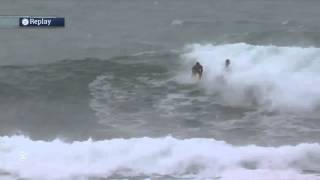 Watch the Craziest Floater in the History of Competitive Surfing