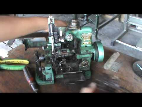 Memperbaiki mesin obras - repair obras machine