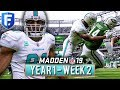 Madden 19 Dolphins Franchise Year 1 - Week 2 @ NY Jets | Ep.3