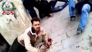 18+ not for shock! Ar-Raqqah, Syria - Tens of terrorist killed by SAA missile strike :) 06-03-13