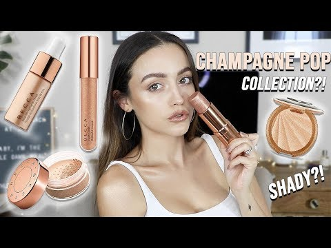 BECCA CHAMPAGNE POP COLLECTION | Try on Review - HIT OR MISS thumbnail