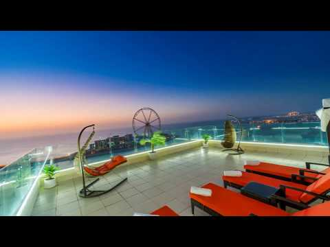 Dubai Huge penthouse with stunning terrace pool in jbr beach walk