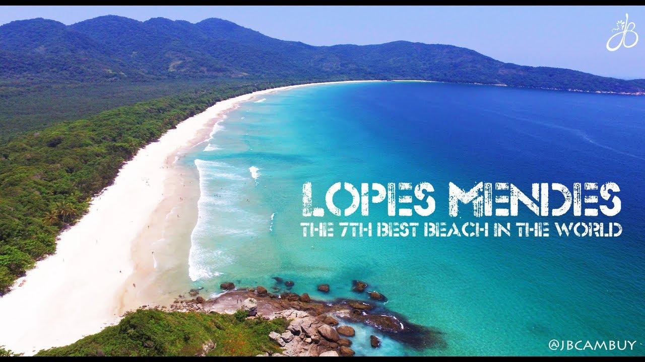 Um Paraíso Chamado Lopes Mendes Ilha Grande Top 7 De