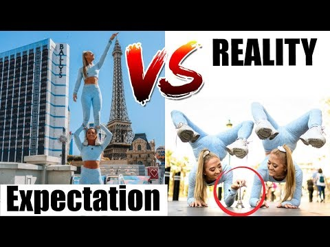 EXPECTATION VS REALITY Twins IN VEGAS