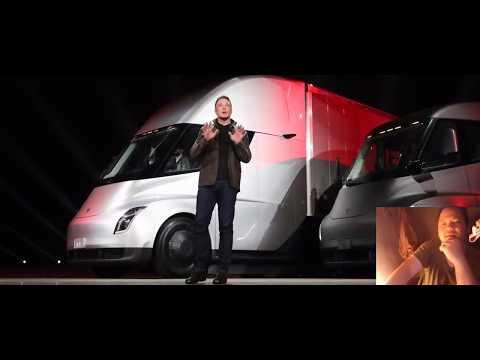 """รถ""""เซมิทรักส์"""" ไฟฟ้า ทำเทสล่าหุ้นขึ้น มียอดจอง แล้วกว่า 250 คัน"""
