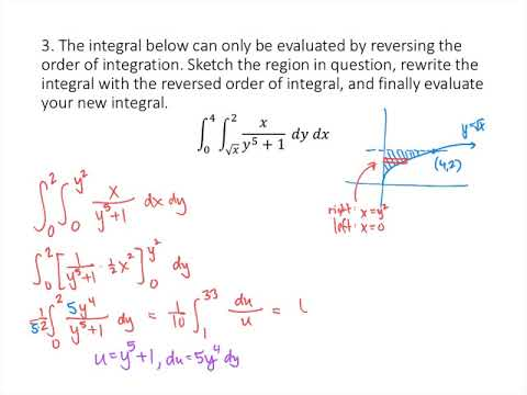 Double Integrals Over General Regions Practice Problems