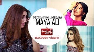 Maya Ali | Teefa In Trouble with Ali Zafar | Mann Mayal | Speak Your Heart With Samina Peerzada