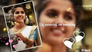love song| usurukkul un pera|WhatsApp status| tamil cut song| female voice|megala world