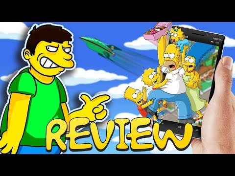Simpsons Mobile Games Review - Square Eyed Jak