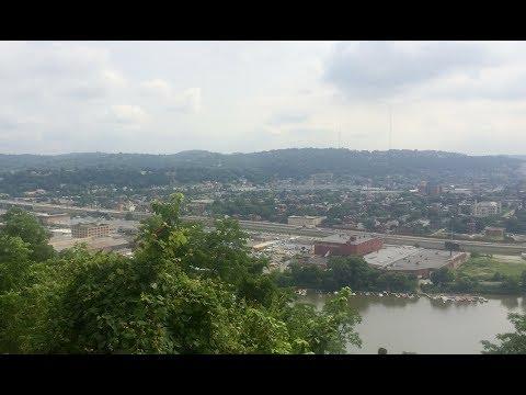 Pittsburgh, Pennsylvania. 7-6-17 white sky, 9:25-10:00 am 74° video.