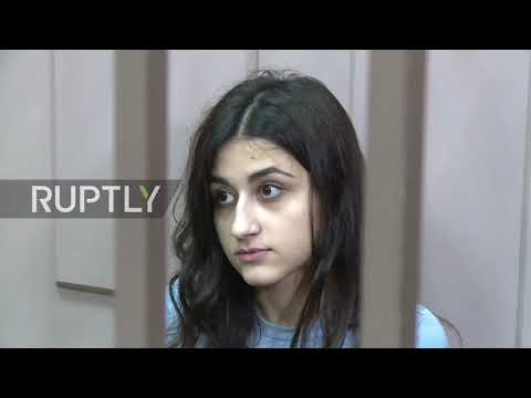 Russia: Teen sisters charged with father's murder released from jail
