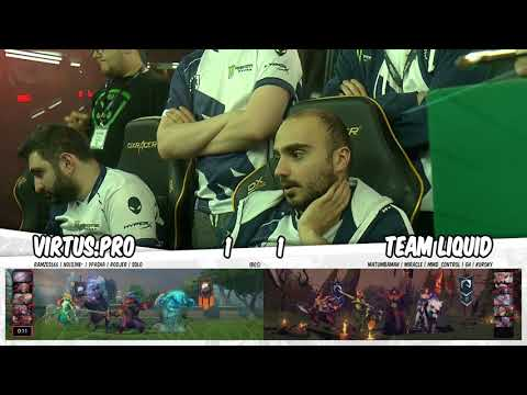 Team Liquid vs Virtus.pro vod