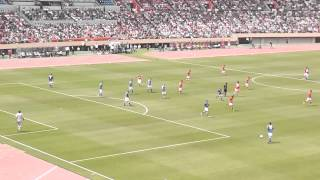 2013/06/09 日本・イタリアOB戦 木村和司FK