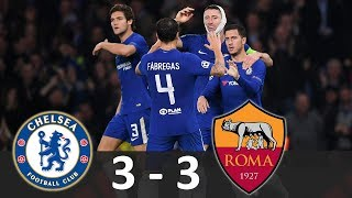 Download Video Chelsea vs AS Roma 3-3 - Hasil Champions League 19/10/2017 - Highlights Extended HD MP3 3GP MP4