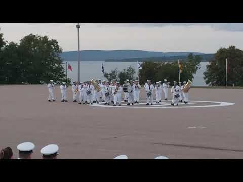 H.M.C.S Acadia Final Ceremony of the Flags 2017