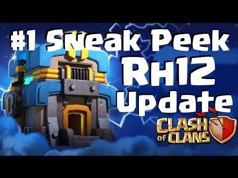 [483] #1 Sneak Peek Rathaus 12 Update !!! Clash of Clans Deutsch COC