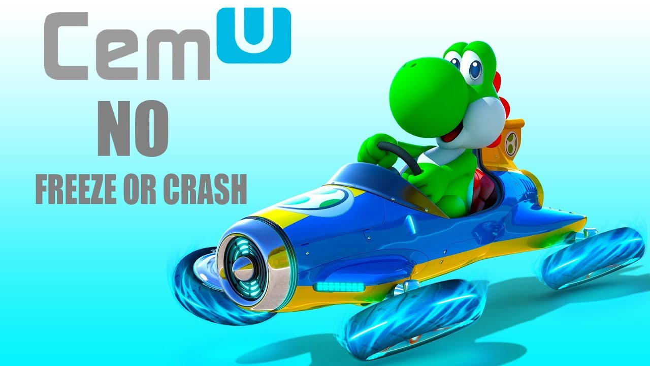 UPDATE How to fix Mario Kart 8 from crashing and freezing|CEMU 1 12 1