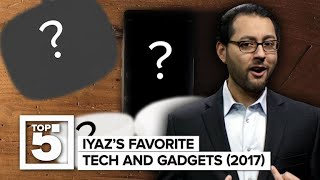 Iyaz's favorite gadgets and tech of 2017 (CNET Top 5)