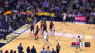 1st Quarter, One Box Video: Denver Nuggets vs. Chicago Bulls