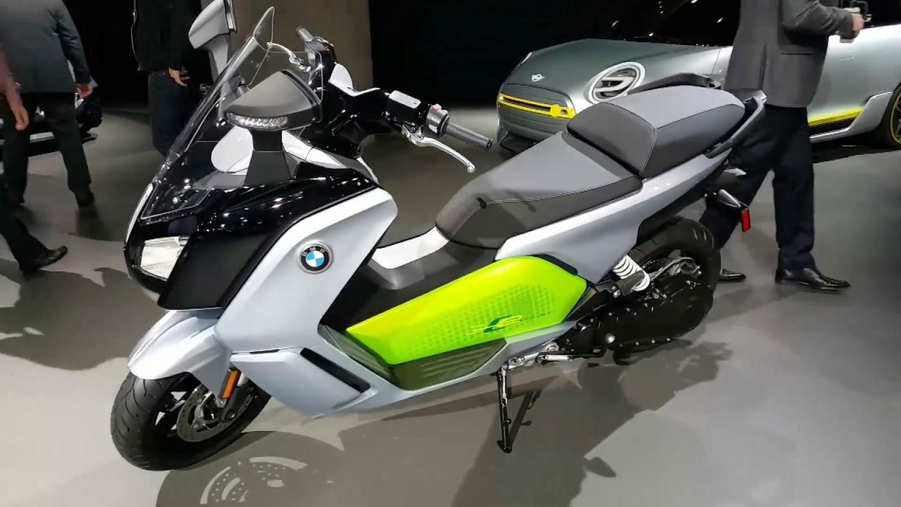 2018 2019 BMW C Evolution High Performance Electric