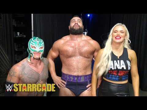 Rusev & Rey Mysterio relish in their Starrcade tag team victory: WWE Exclusive, Nov. 25, 2018