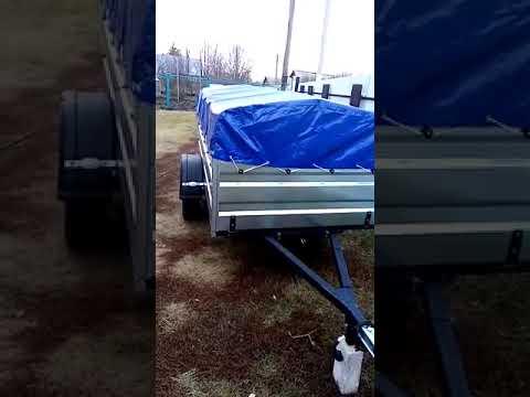 Видео отзыв Прицеп Титан 2513- 05
