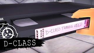 D-Class Training Video | Minecraft SCP Foundation