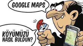 Google Maps'ten 10 İLGİNÇ ve EĞLENCELİ Görüntü. Free HD Video