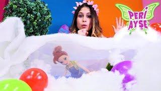 Peri Ayşe buzun altından Anna'yı çıkartıyor! Çocuk videosu