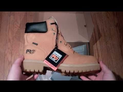 eb3e565de02 Unboxing Timberland Pro's 6-inch Soft Toe
