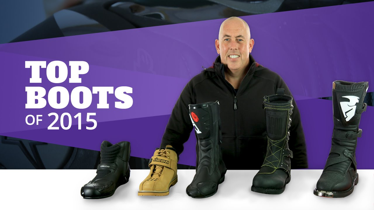 Best Motorcycle Boots of 2015 - YouTube