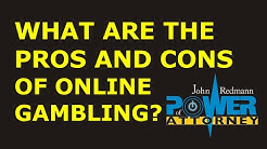 What are the pros and cons of legalized online gambling?