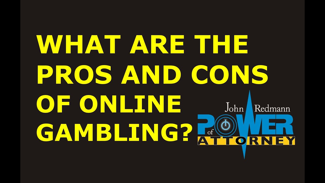Pros and cons on gambling evil las vegas casino