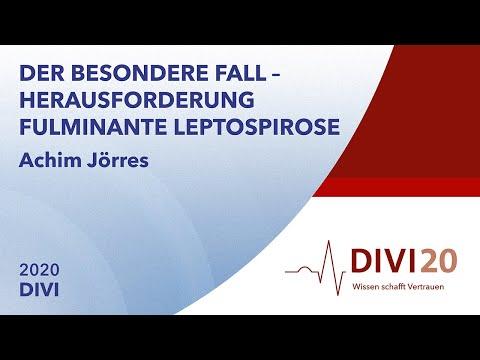 Der besondere Fall - Herausforderung fulminante Leptospirose | Achim Jörres | DIVI 2020