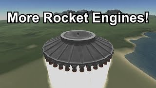 KSP - Maximum Rocket Engines!
